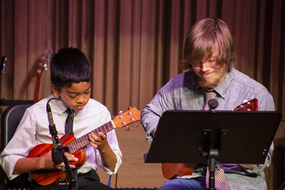 Brennan McShane ukulele concert