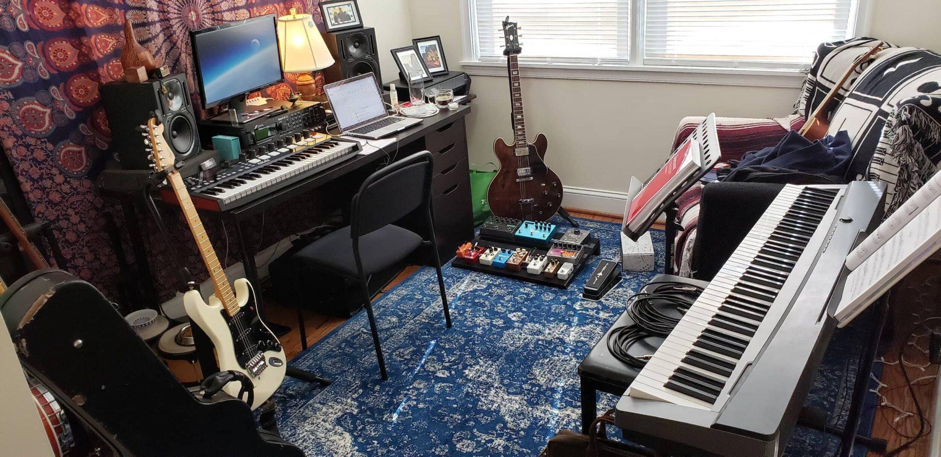 Charles home studio