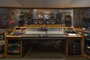 Studio-B mixing board