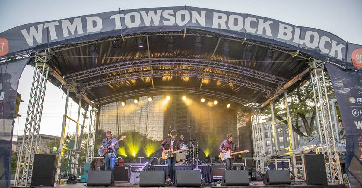 WTMD Towson Rock Block (2018 & 2019)