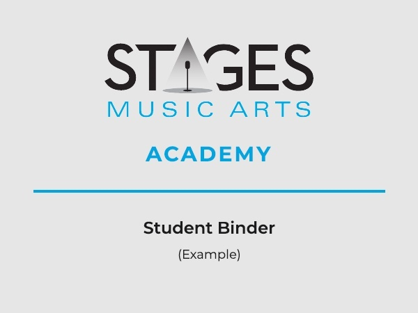 Student Binder Example