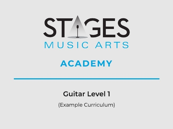 Guitar Level 1 Example Curriculum